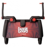 Lascal stupátko Buggy Board MAXI-Black/Red