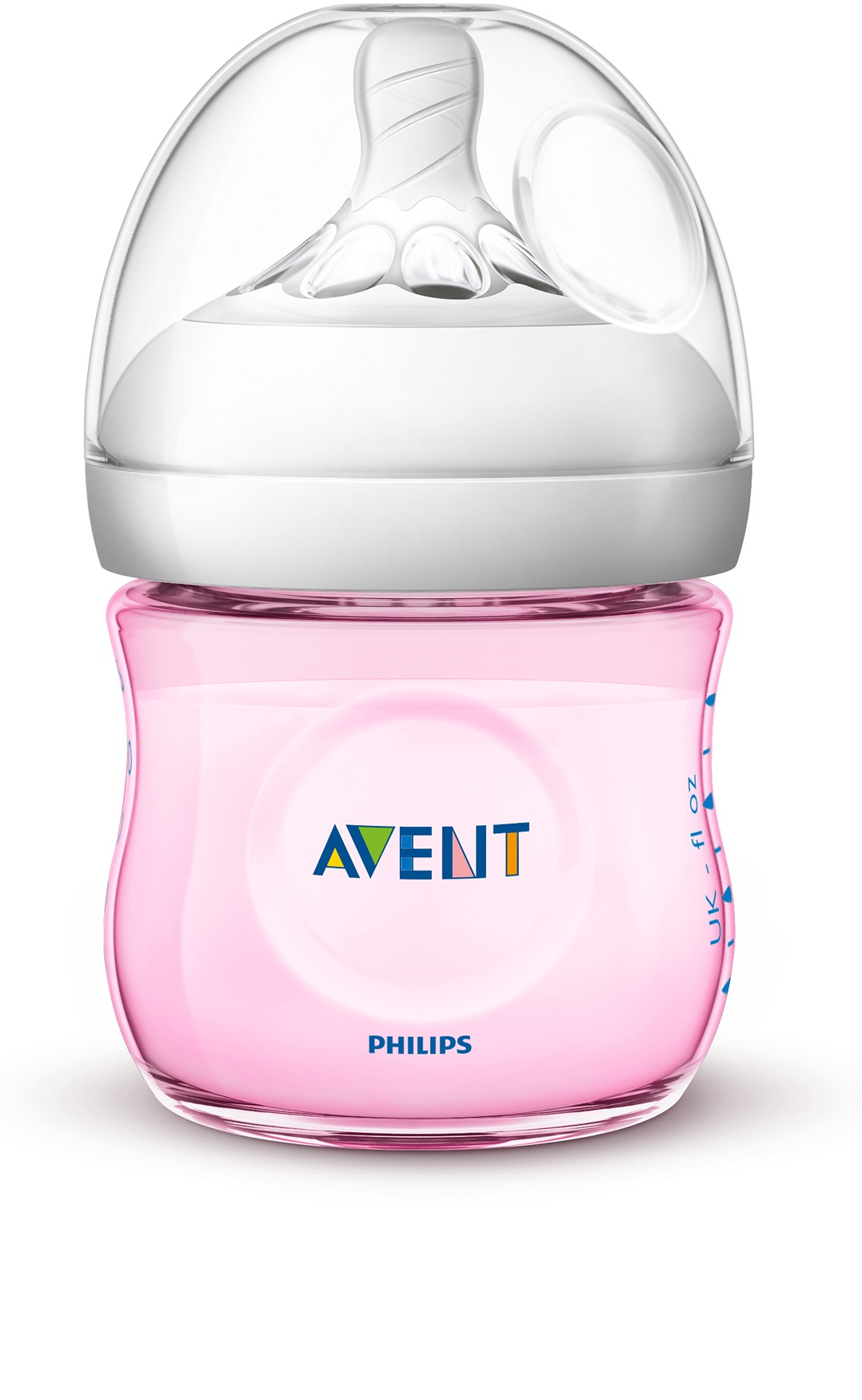 Lahev Natural Philips Avent 125 ml, 1 ks růžová nová