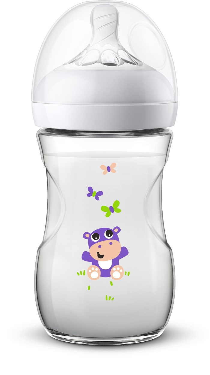 Láhev Natural Philips Avent 260 ml, 1 ks Hroch nová