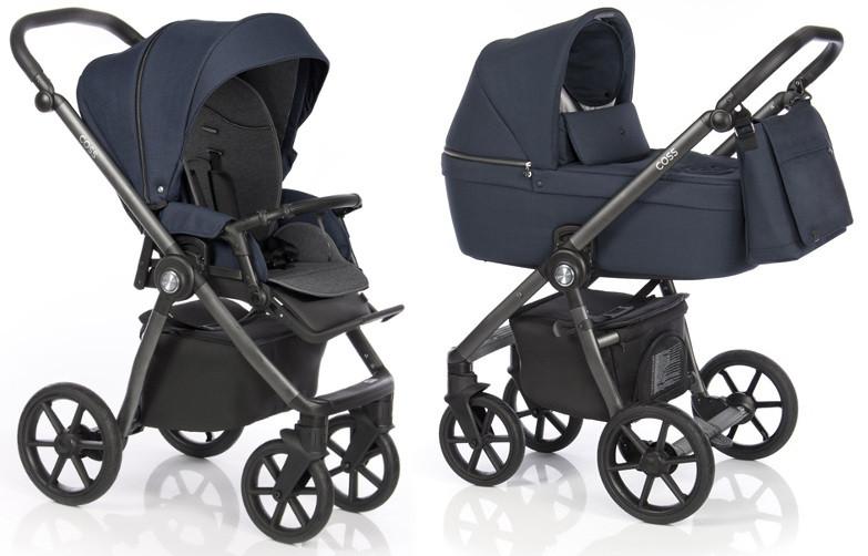 Kočárek Roan Coss Navy | Dětský svět - prodej dětského oblečení, hraček a  kočárků či těhotenské módy