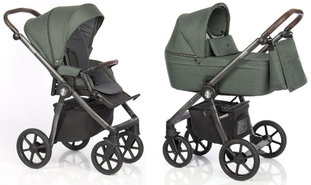 Kočárek Roan Coss Night Green | Dětský svět - prodej dětského oblečení,  hraček a kočárků či těhotenské módy
