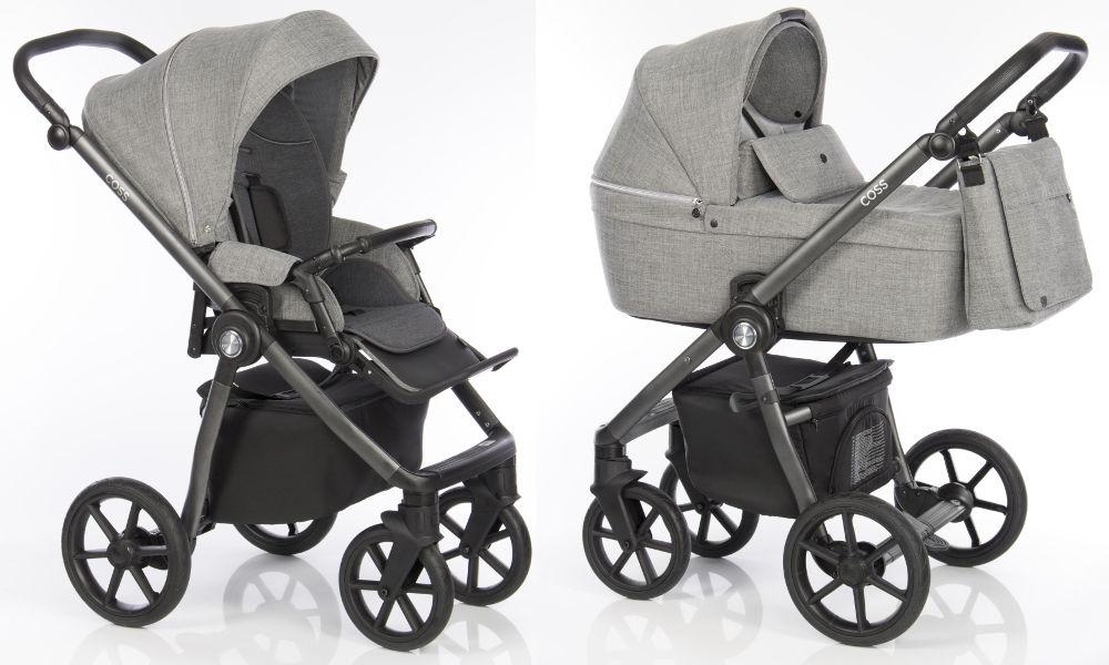 Kočárek Roan Coss Titanium | Dětský svět - prodej dětského oblečení, hraček  a kočárků či těhotenské módy
