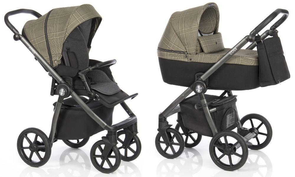 Kočárek Roan Coss Rock Check | Dětský svět - prodej dětského oblečení,  hraček a kočárků či těhotenské módy