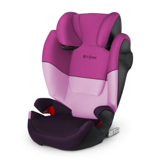 Autosedačka Cybex Solution M-Fix 2019 Purple Rain