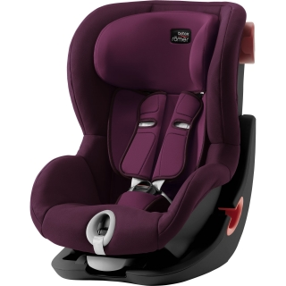 Autosedačka BRITAX RÖMER King II Black Burgundy Red