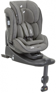 Autosedačka Joie Stages Isofix Foggy grey